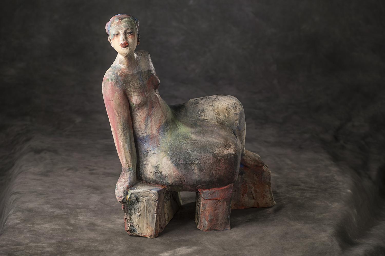 Girl On Plinth