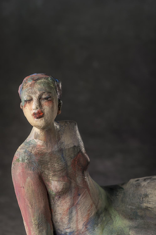 Girl On Plinth (detail)