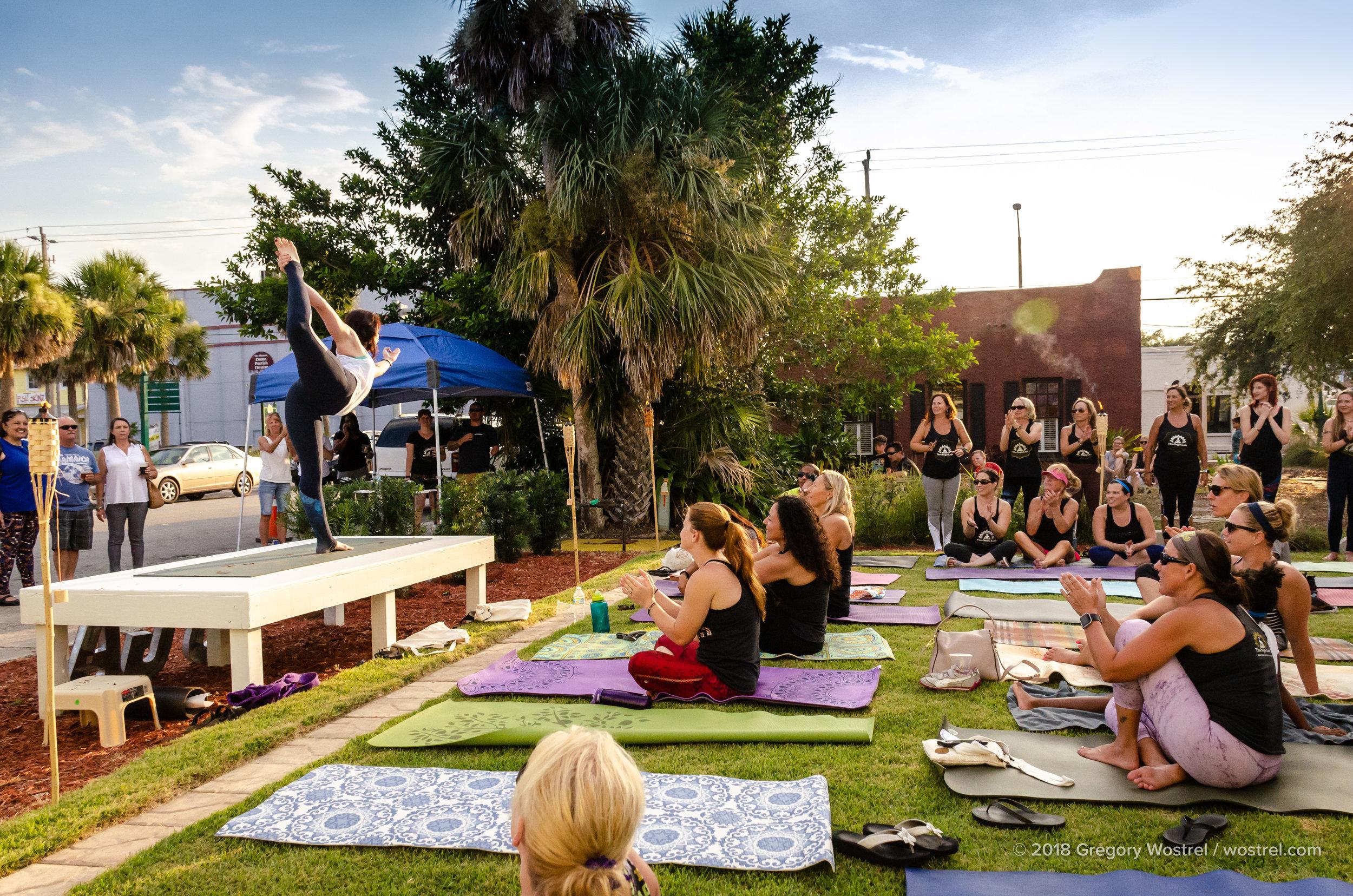 The Titusville Yoga Loft  - Titusville Yoga Loft Community Garden 5.jpg