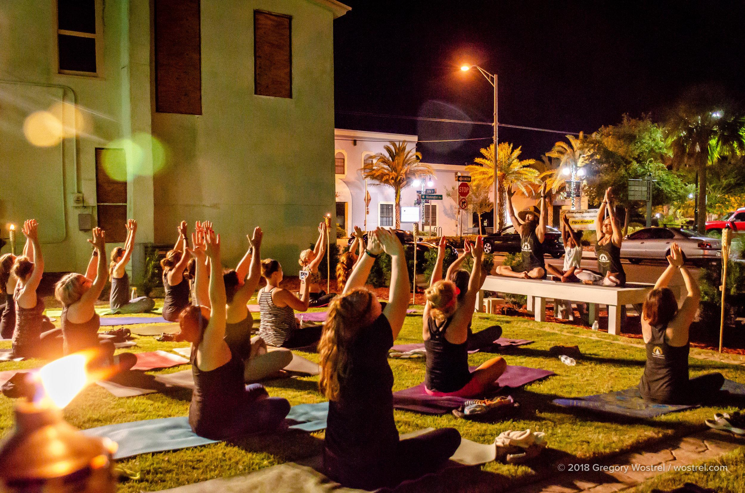 The Titusville Yoga Loft  - Titusville Yoga Loft Community Garden 11.jpg