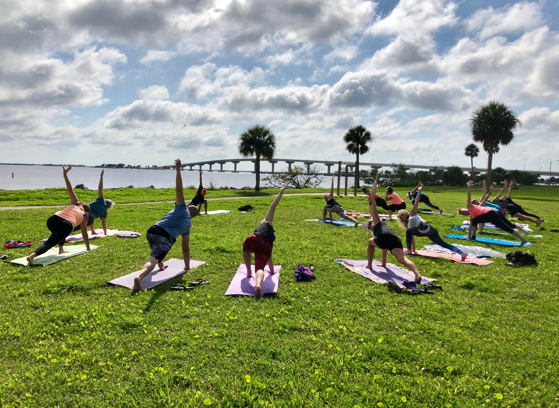 Titusville Yoga in the Park Sundays 9AM Sponsored by The Titusville Yoga Loft at Sand Point Park 101 N Washington Ave, Titusville, Florida 4.jpg