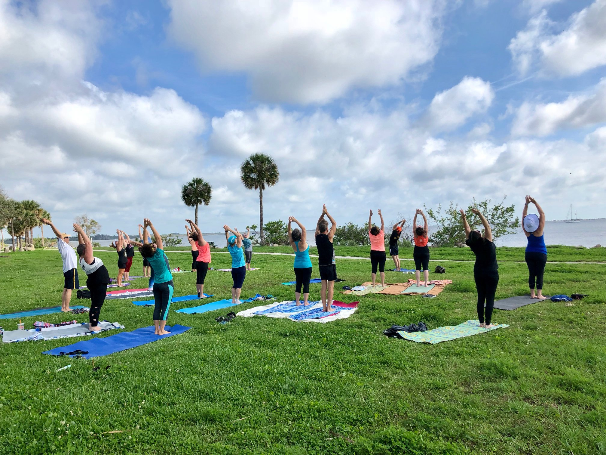 Titusville Yoga in the Park Sundays 9AM Sponsored by The Titusville Yoga Loft at Sand Point Park 101 N Washington Ave, Titusville, Florida 5.jpg
