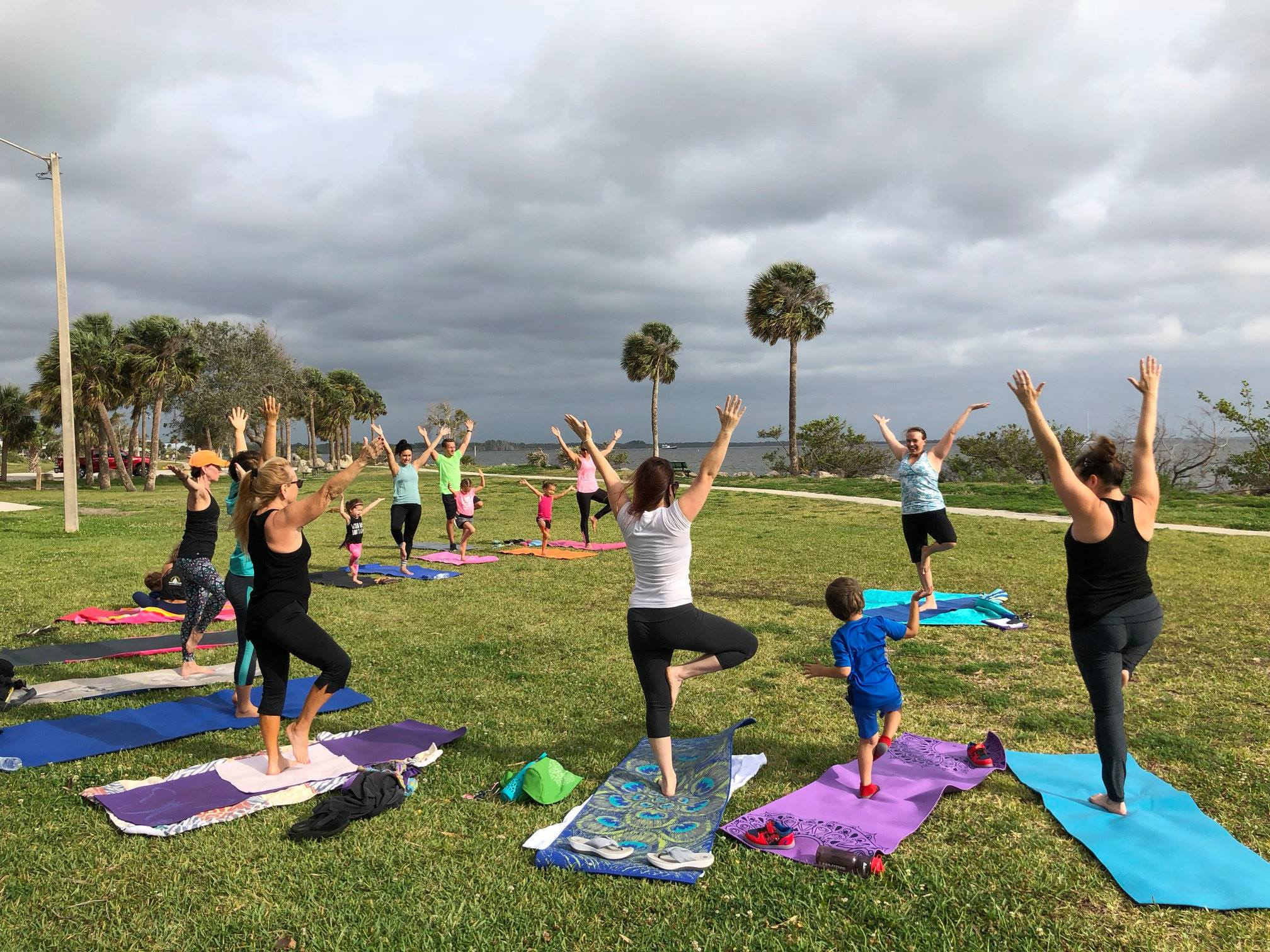 Titusville Yoga in the Park Sundays 9AM Sponsored by The Titusville Yoga Loft at Sand Point Park 101 N Washington Ave, Titusville, Florida 13.jpg