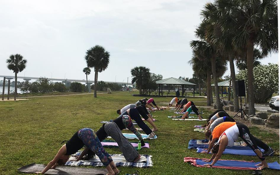 Titusville Yoga in the Park Sundays 9AM Sponsored by The Titusville Yoga Loft at Sand Point Park 101 N Washington Ave, Titusville, Florida 15.jpg
