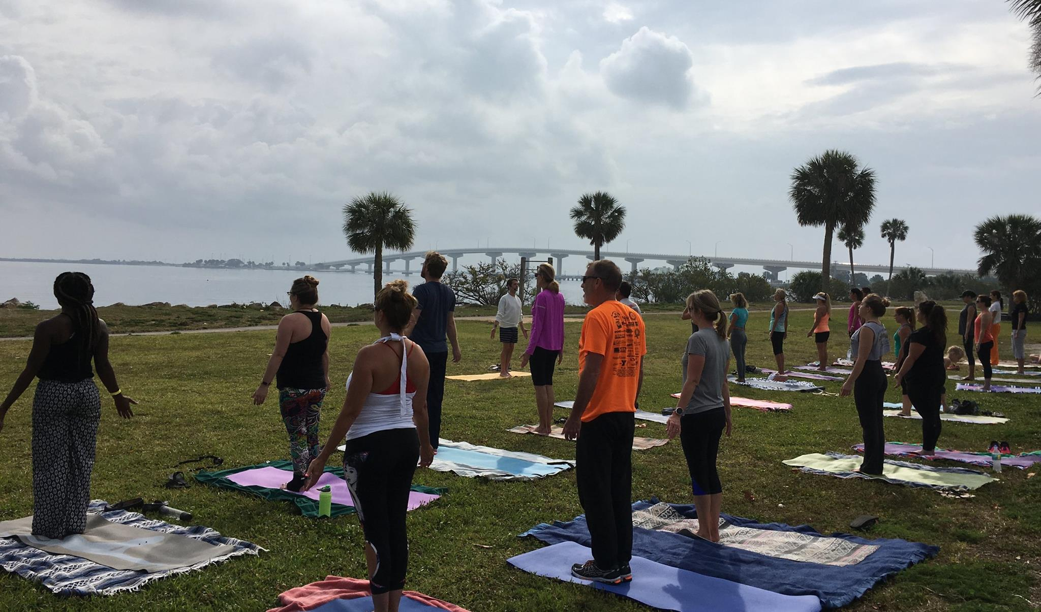Titusville Yoga in the Park Sundays 9AM Sponsored by The Titusville Yoga Loft at Sand Point Park 101 N Washington Ave, Titusville, Florida 14.jpg