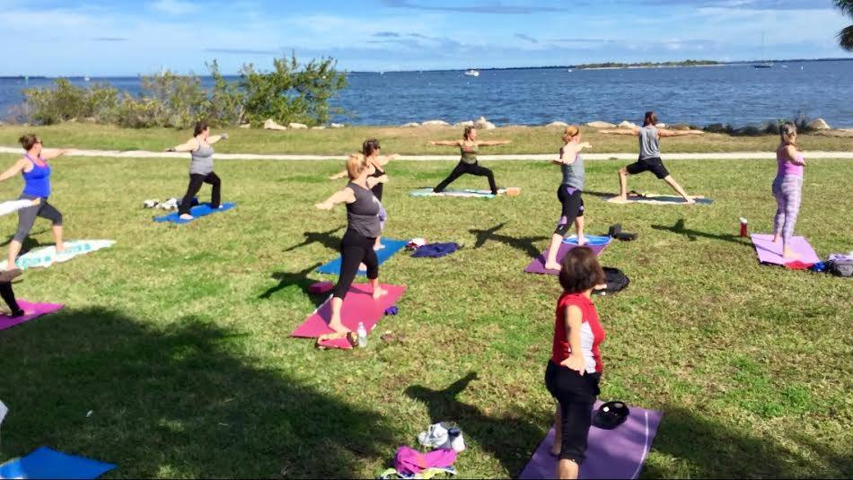 Titusville Yoga in the Park Sundays 9AM Sponsored by The Titusville Yoga Loft at Sand Point Park 101 N Washington Ave, Titusville, Florida 17.jpg