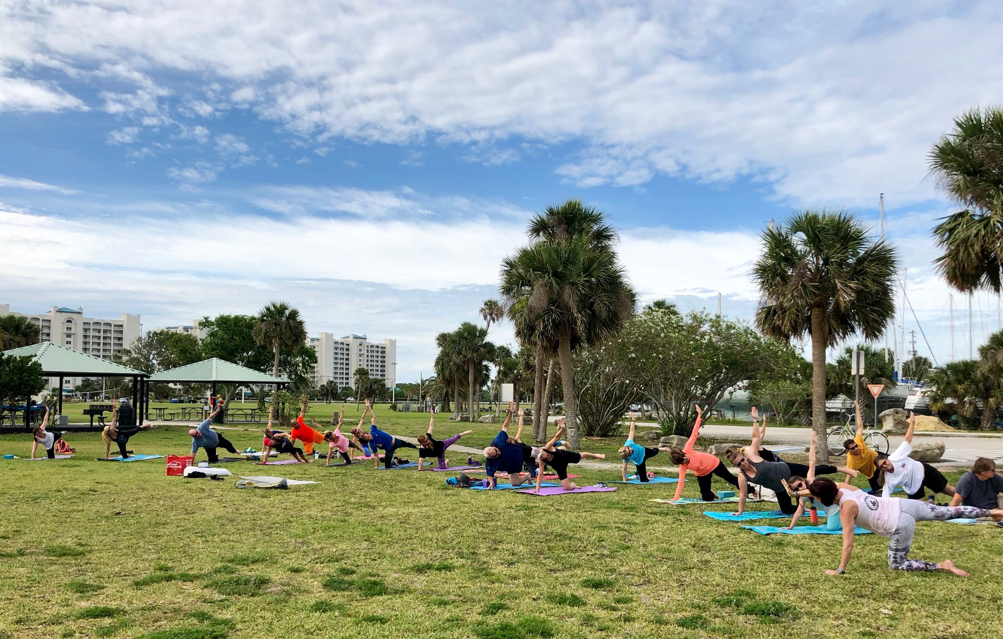 Titusville Yoga in the Park Sundays 9AM Sponsored by The Titusville Yoga Loft at Sand Point Park 101 N Washington Ave, Titusville, Florida 9.jpg