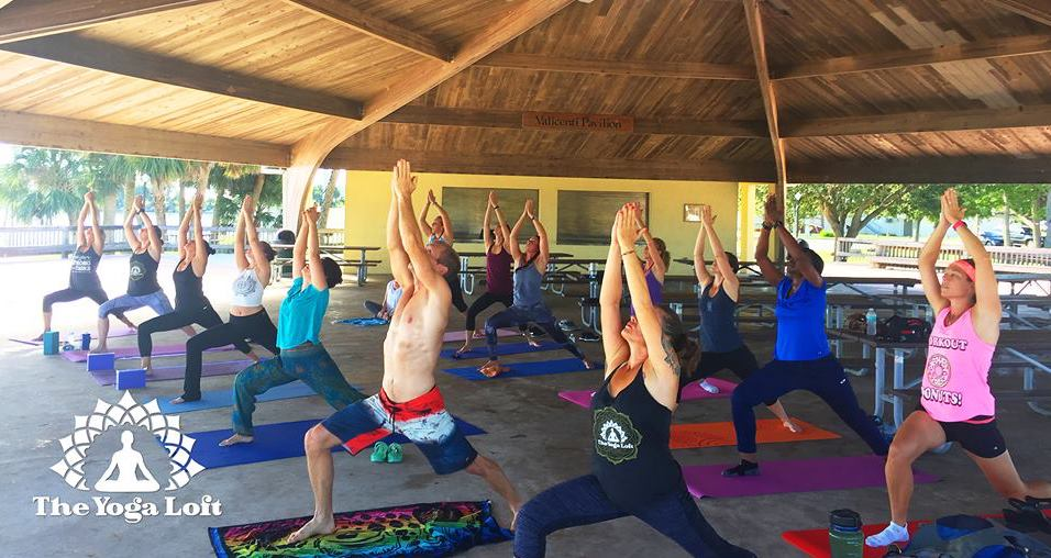 Titusville Yoga in the Park Sundays 9AM Sponsored by The Titusville Yoga Loft at Sand Point Park 101 N Washington Ave, Titusville, Florida 34.jpg