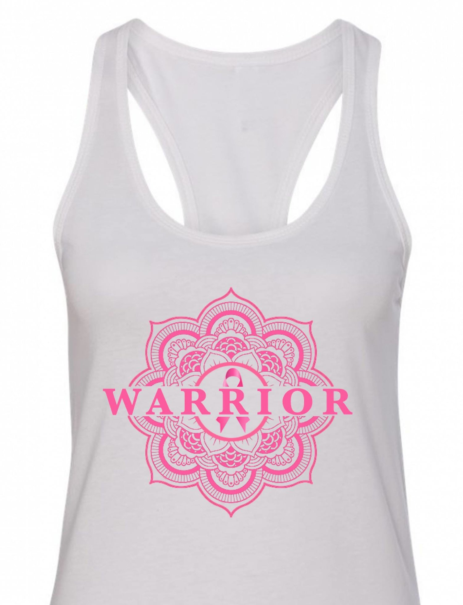 Titusville Yoga Loft - Yoga for Breast Cancer Awareness Warrior Tank Tops at The Titusville Yoga Loft Downtown Titusville