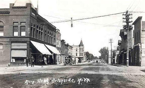 Main Street, Ortonville Minnesota, 1910's