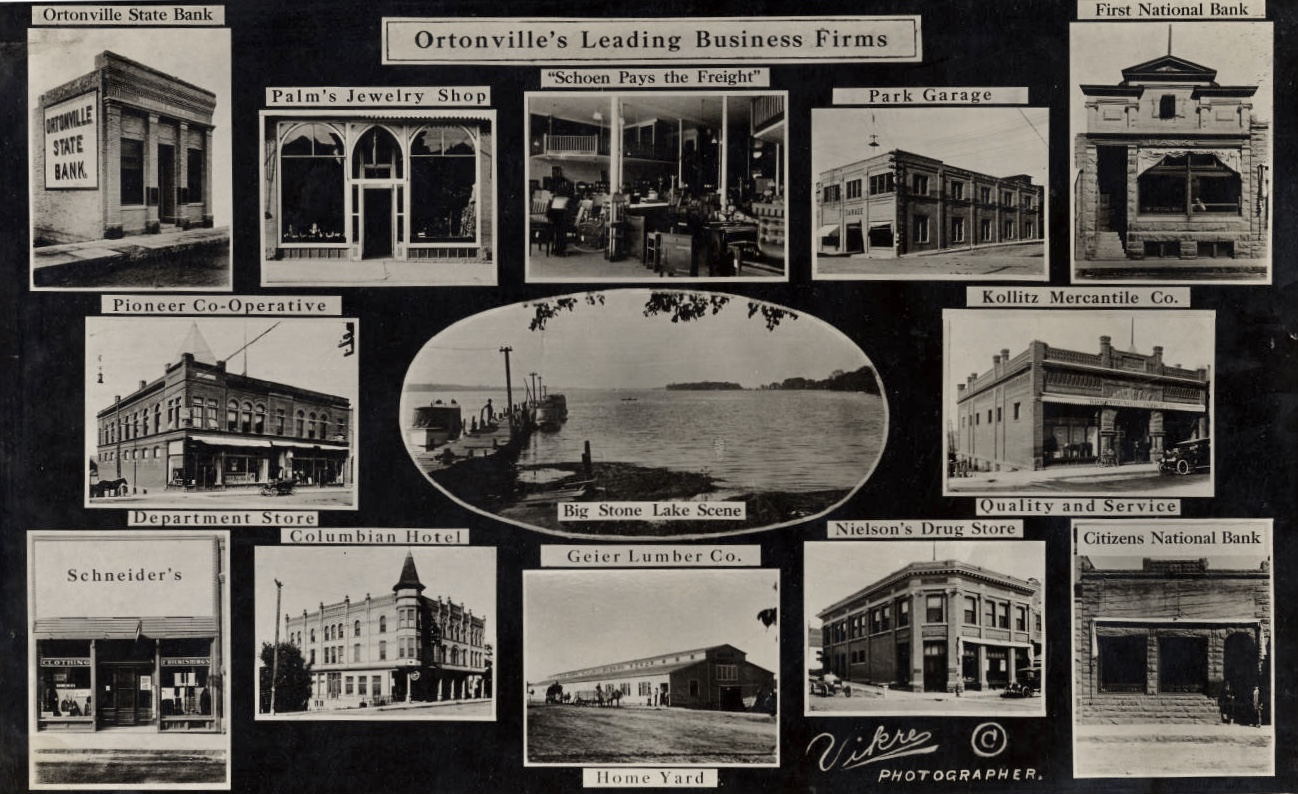 Ortonville's Leading Business Firms, 1915