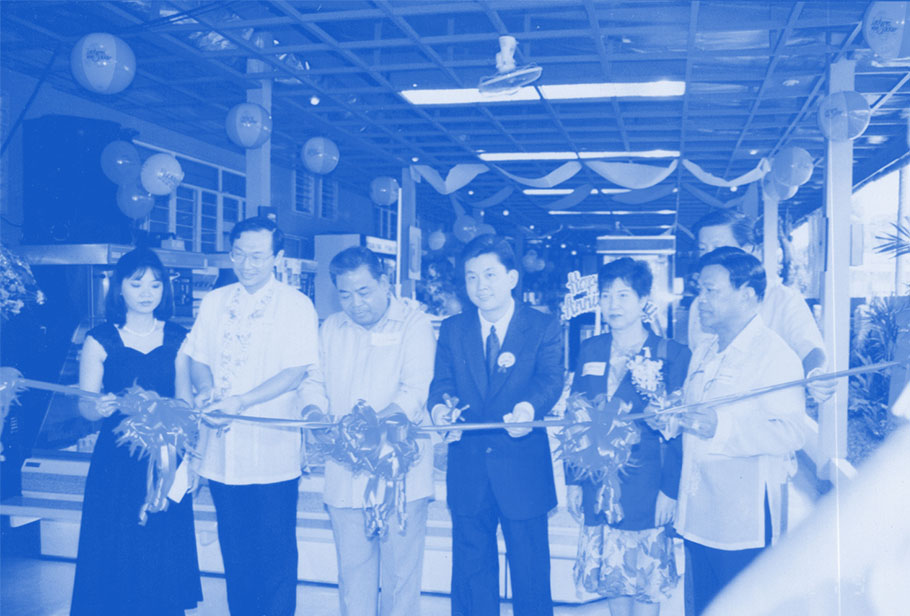 1990: Passion for Food with Sound Engineering Expertise - From our humble shop in Sta. Mesa, we supplied kitchen equipment to clients all over the Philippines. Thanks to that,  we were able to then set up our first large scale stainless steel fabrication plant in Valenzuela.