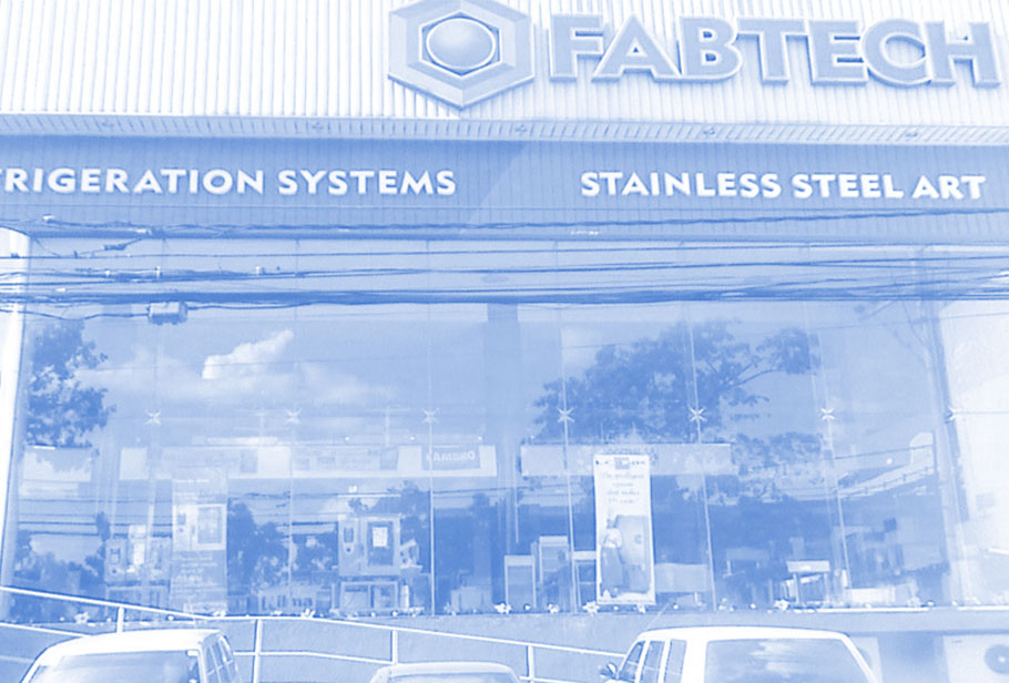 2003: Fabtech Kitchens Unlimited Inc. - Soon after, their homegrown story began to spread not only locally but internationally. In 2003, WKG Food Tech International Inc., became Fabtech Kitchens Unlimited, Inc.who until now promises to provide clients with only top quality food commercial equipment. This mindset continues to attract the best suppliers from all around the world, providing us a strong, wide-ranging portfolio of equipment. Fabtech then moved from Sta. Mesa to a new office and showroom in Quezon Ave.