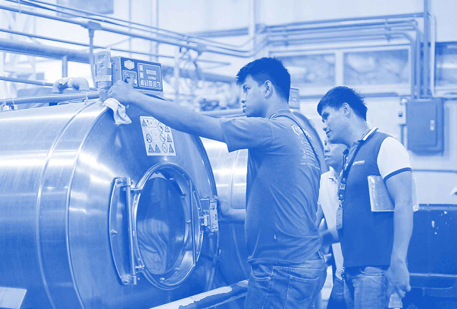 2017: Fabtech Laundry - Our reputation continued to attract top suppliers and in 2017, we became the exclusive dealer of Milnor and Chicago Dryer.Fabtech Laundrywas then added to the company's list of services. We now design and supply commercial laundry systems.