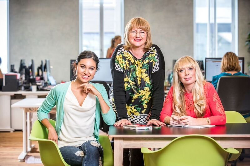 Nadia Lim, Theresa Gattung, Cecilia Robinson - Co-founders of My Food Bag