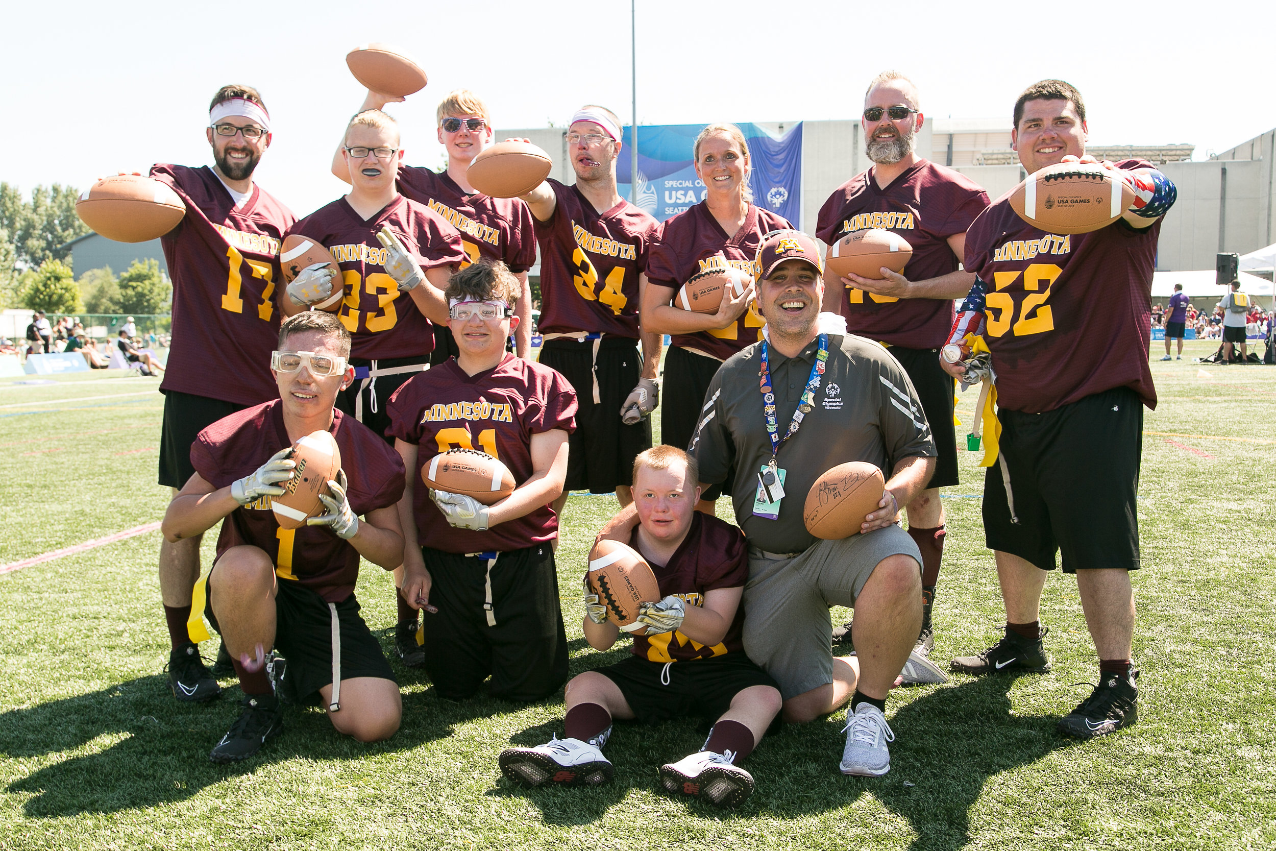 Team Minnesota Unified Flag Football