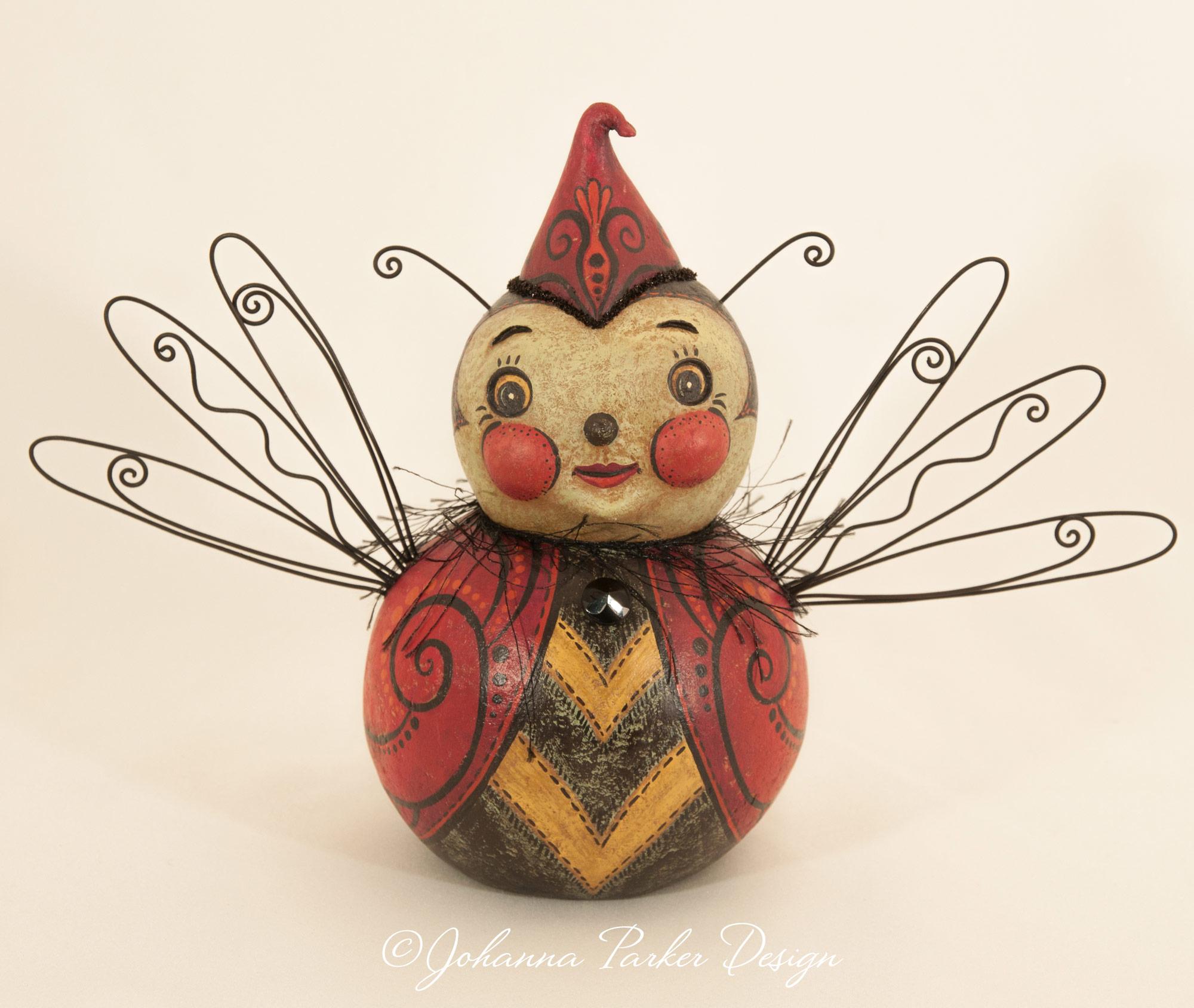 Beauty bug ball character