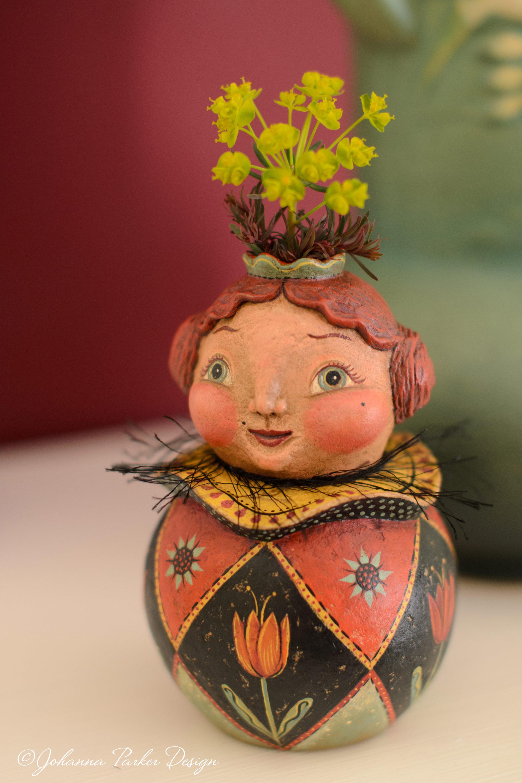Flower keeper girl