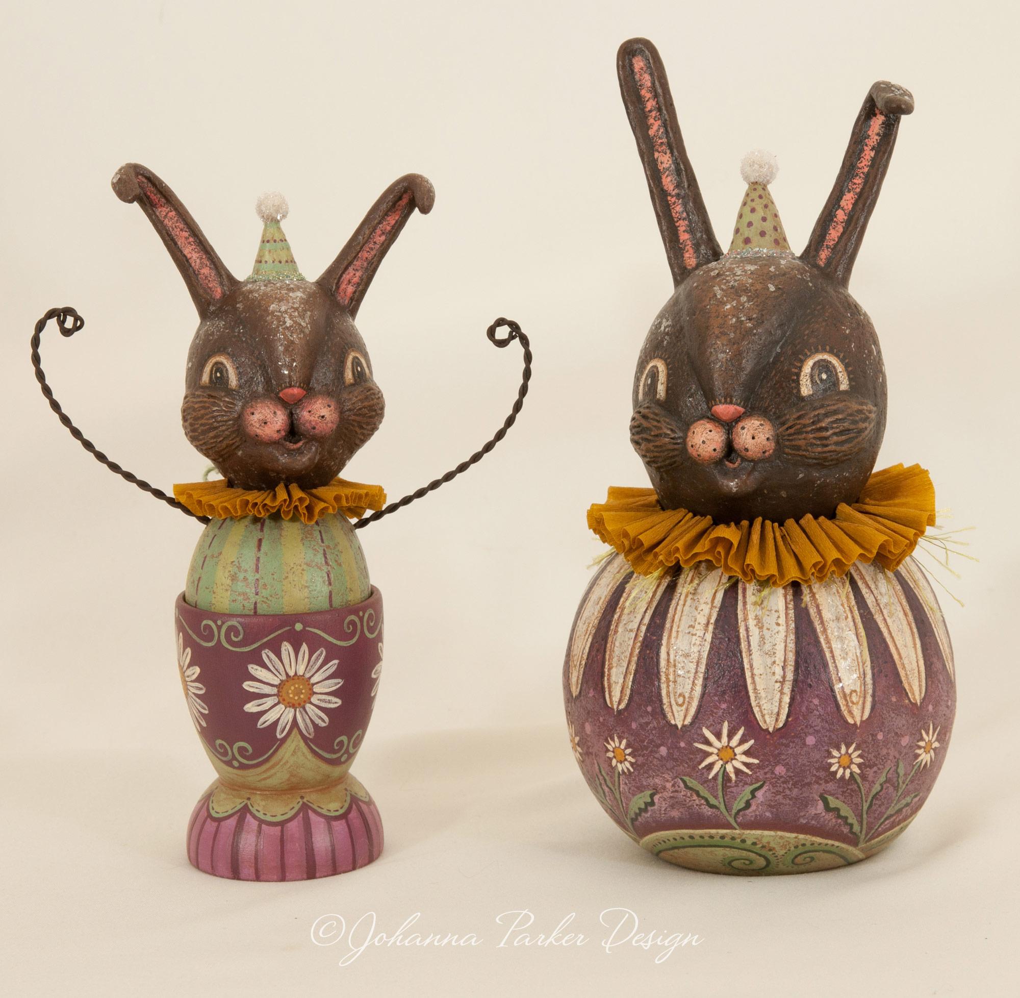 Purple bunny pair