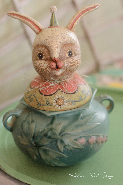 Vanilla bunny bust