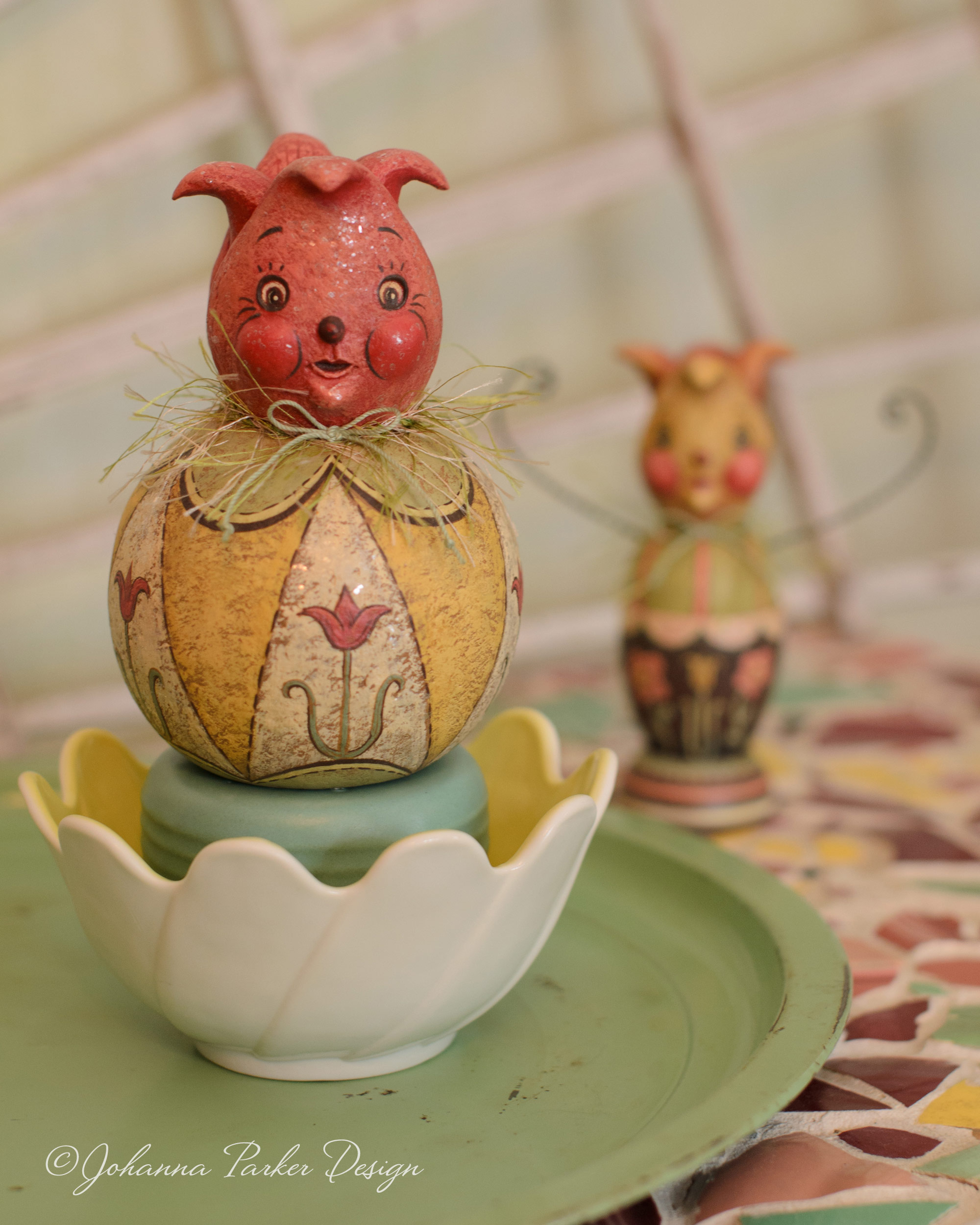 Tulip folk art