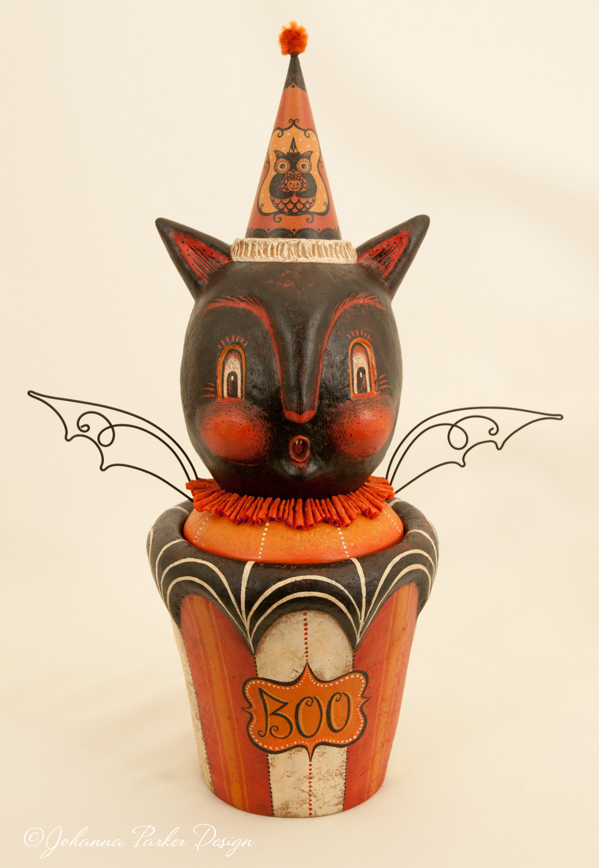 Boo bat candy container