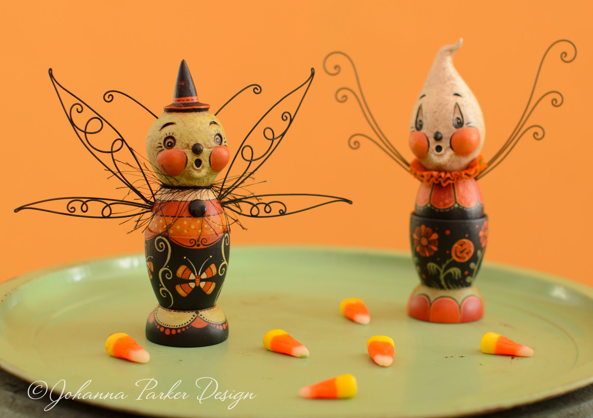 Bug & ghost egg cups