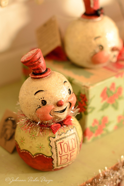Jolly be snowman
