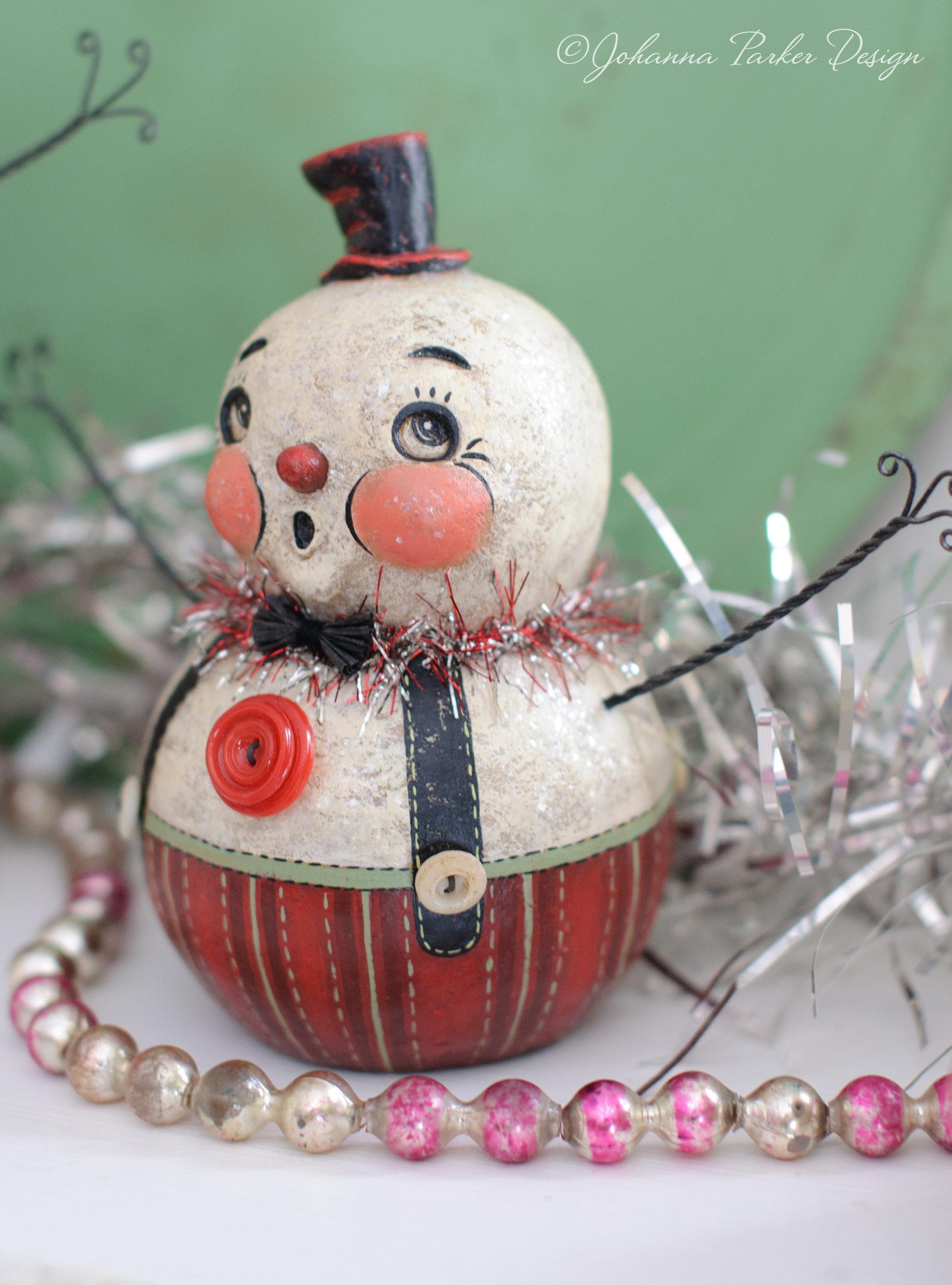Dapper top hat snowman