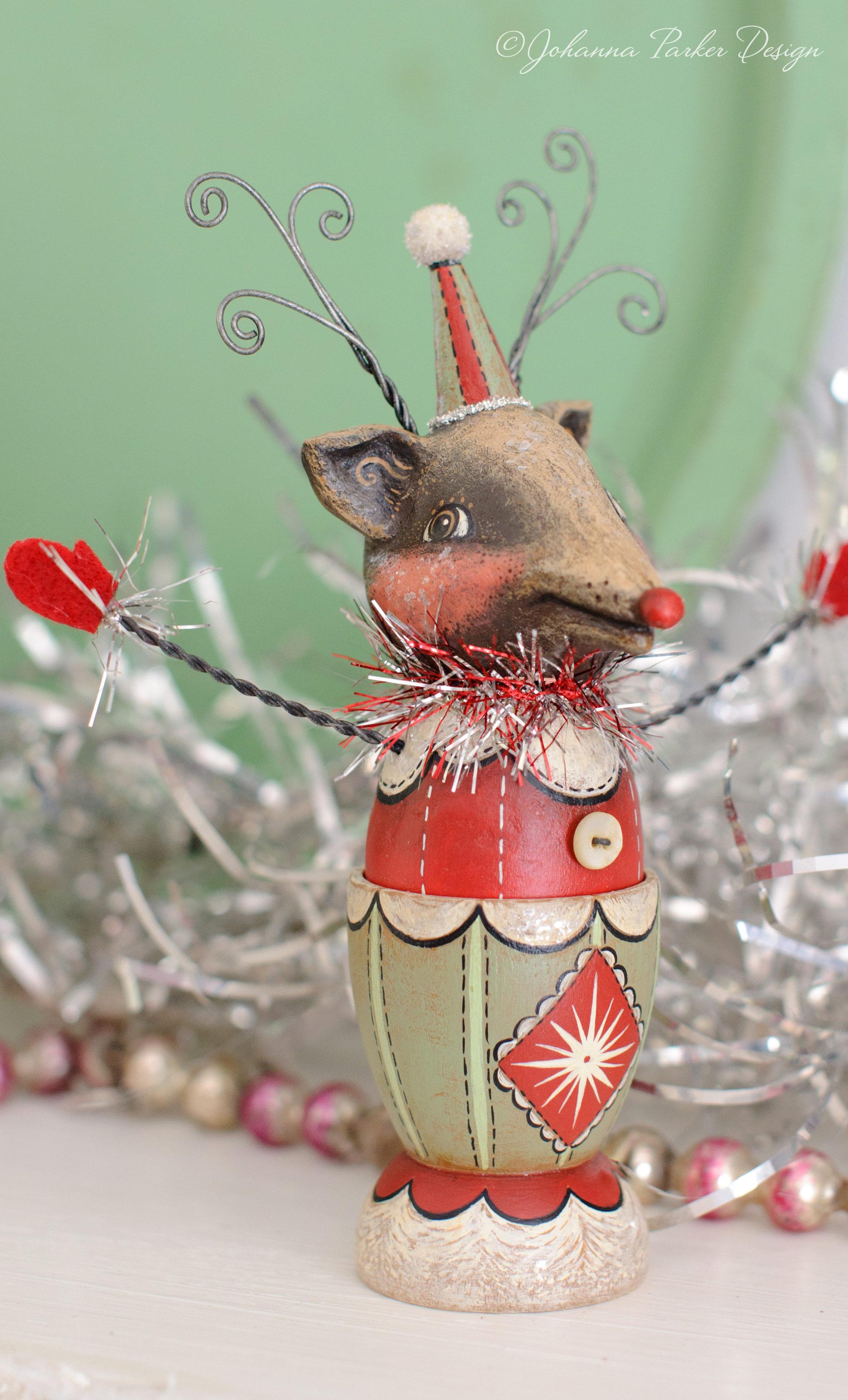 Reindeer egg cup
