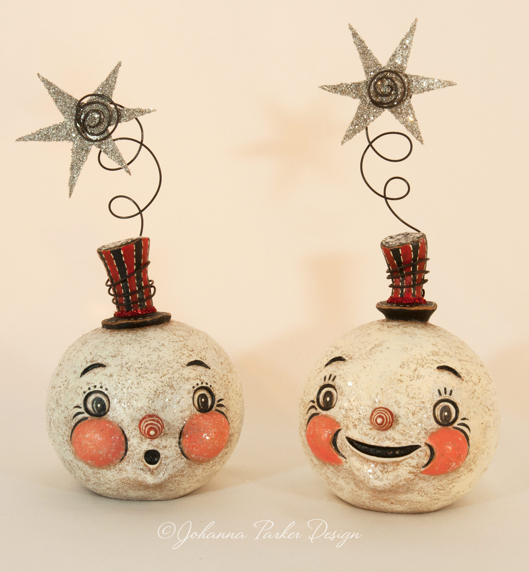 Sparkle snowmen