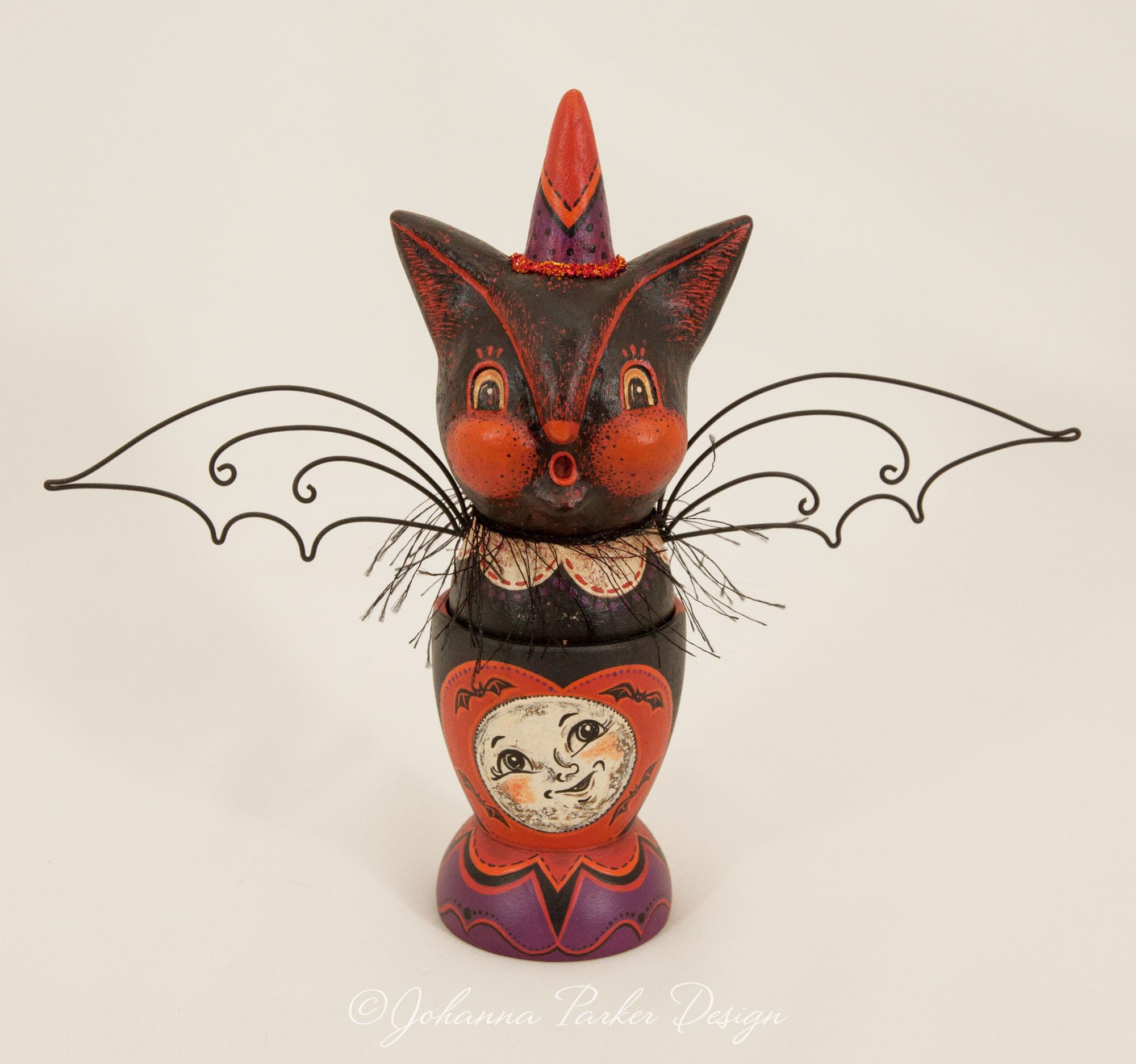 Moon bat egg cup