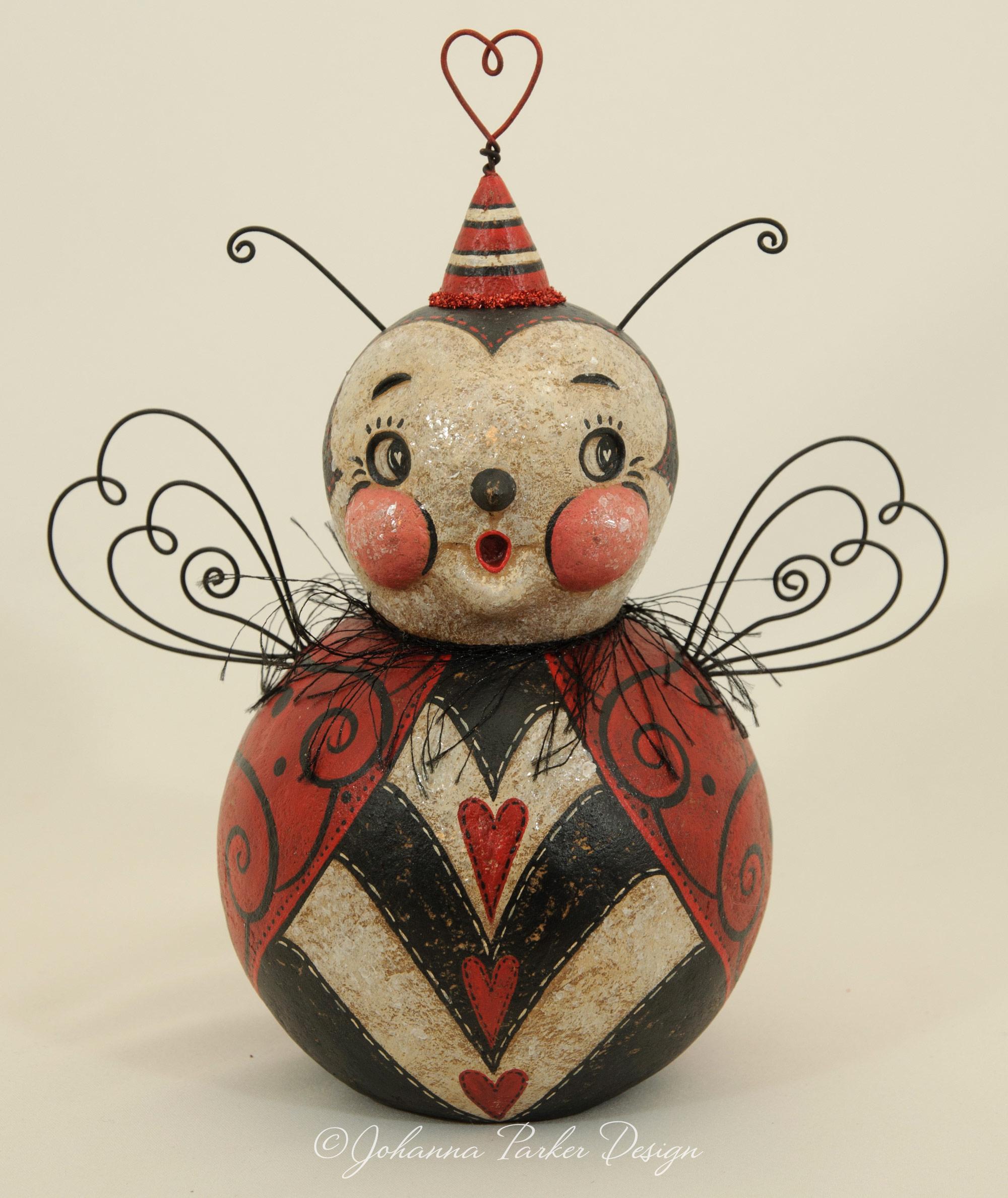 Love bug ball character