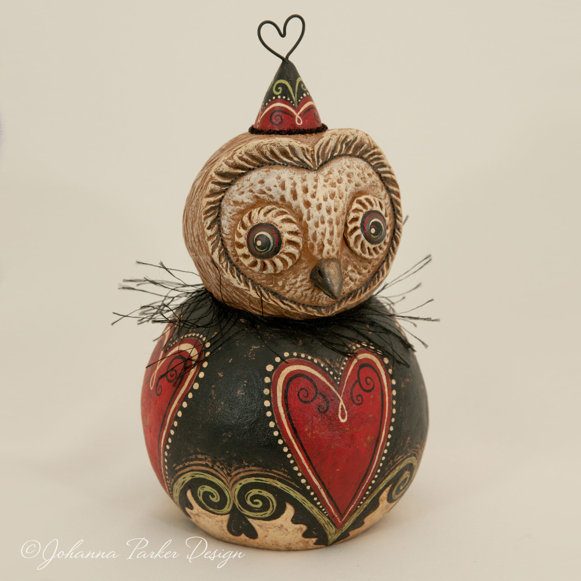 Valentine barn owl