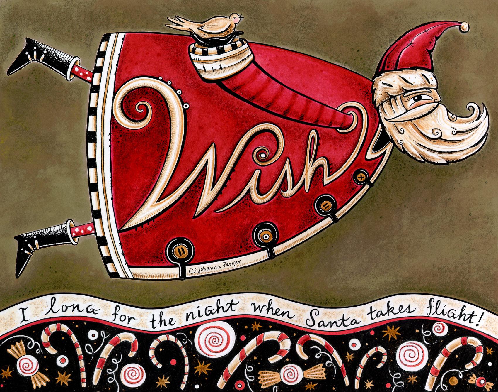 Wish Santa