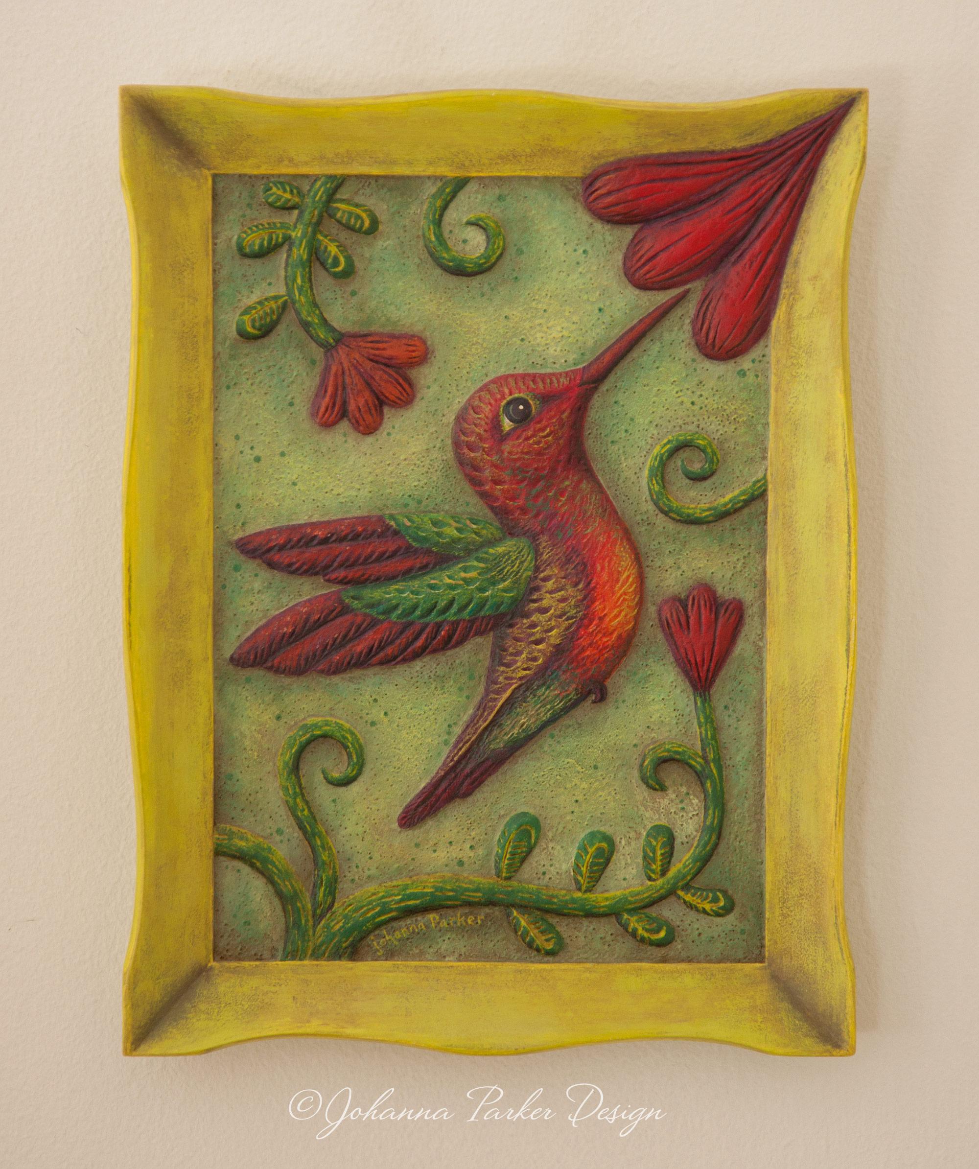 Nectar hummingbird artscape