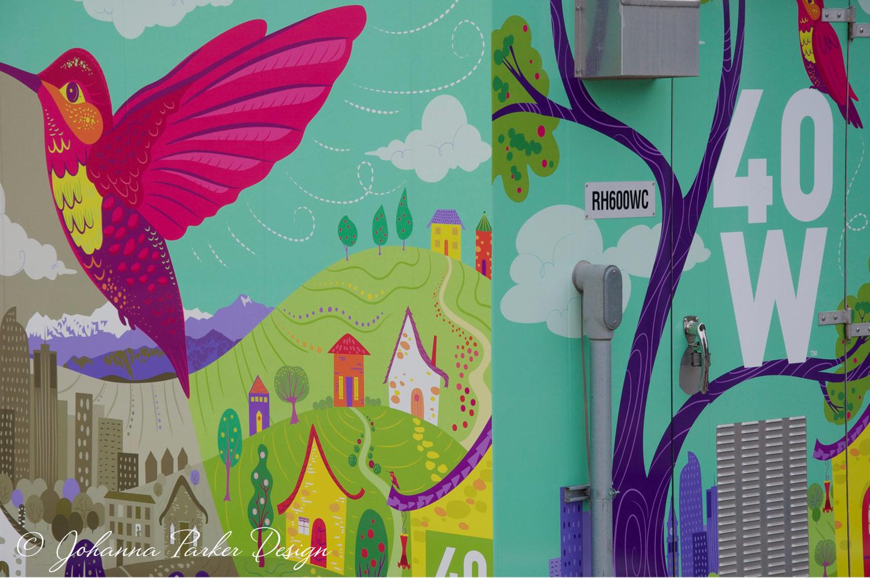 Buzzing with Color Hummingbird RTD Lamar