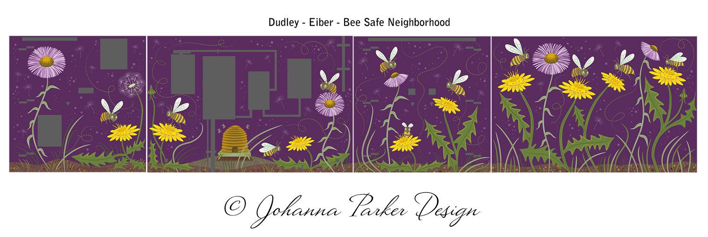 Bee Safe flat artwork box wrap RTD
