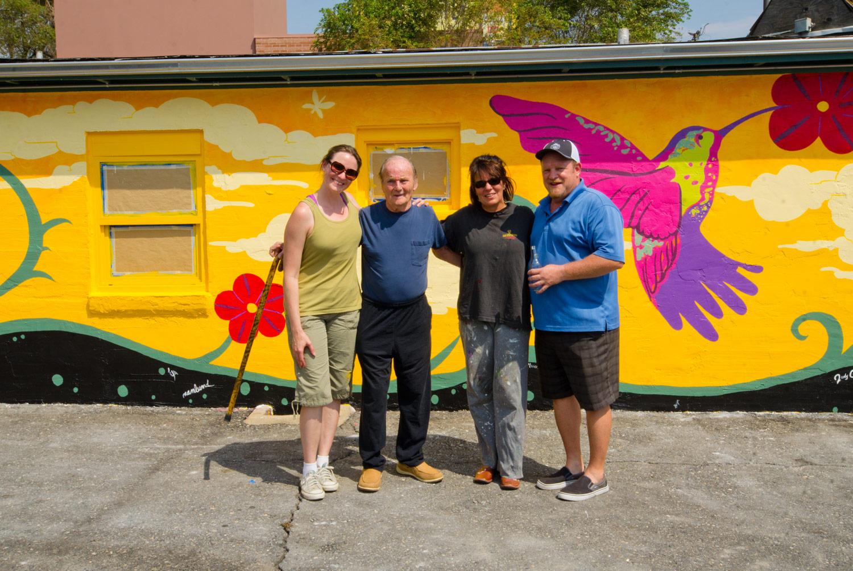 Jerry Redwine Kings Rest Motel Mural