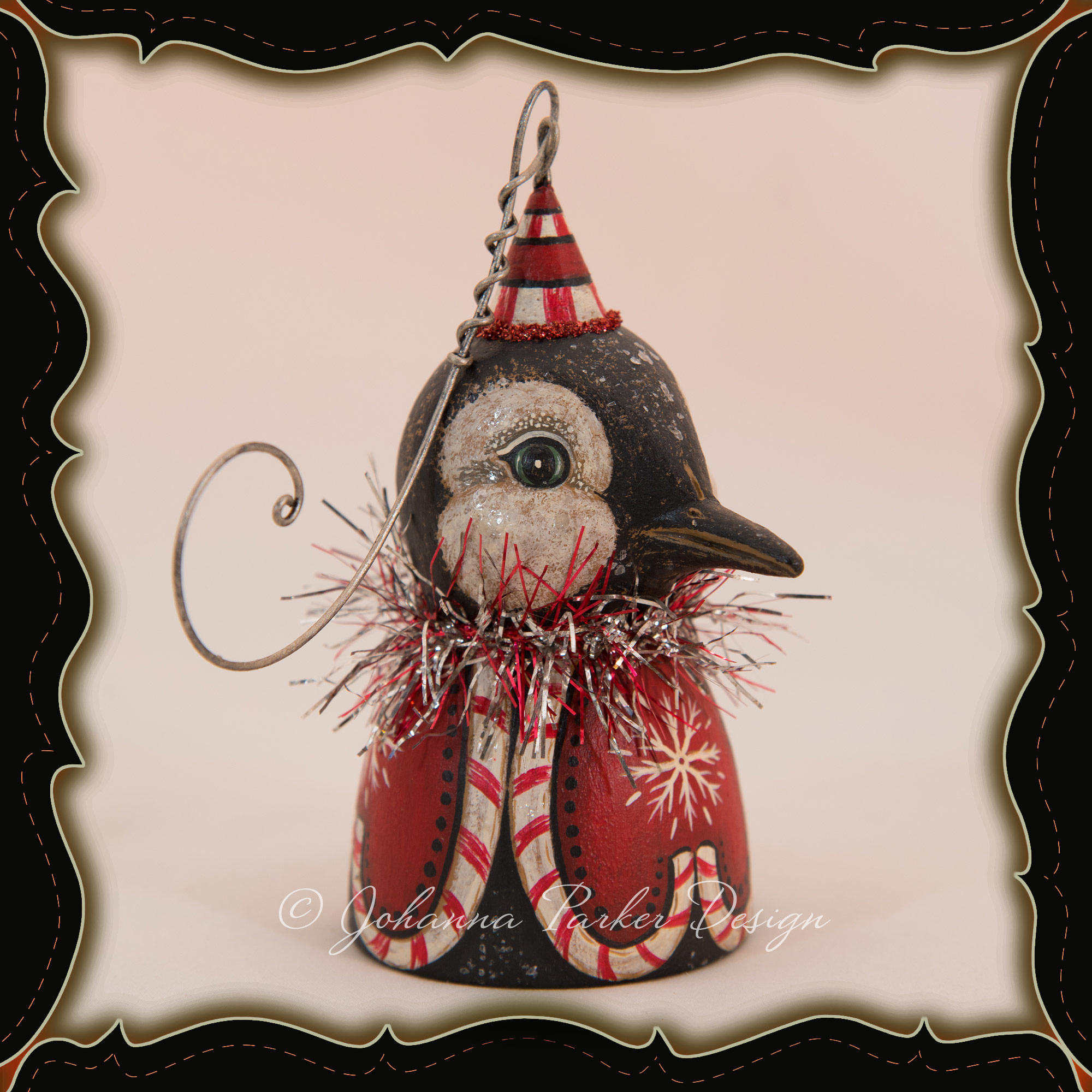 Johanna-Parker-Penguin-Ornament-Bell-framed.jpg