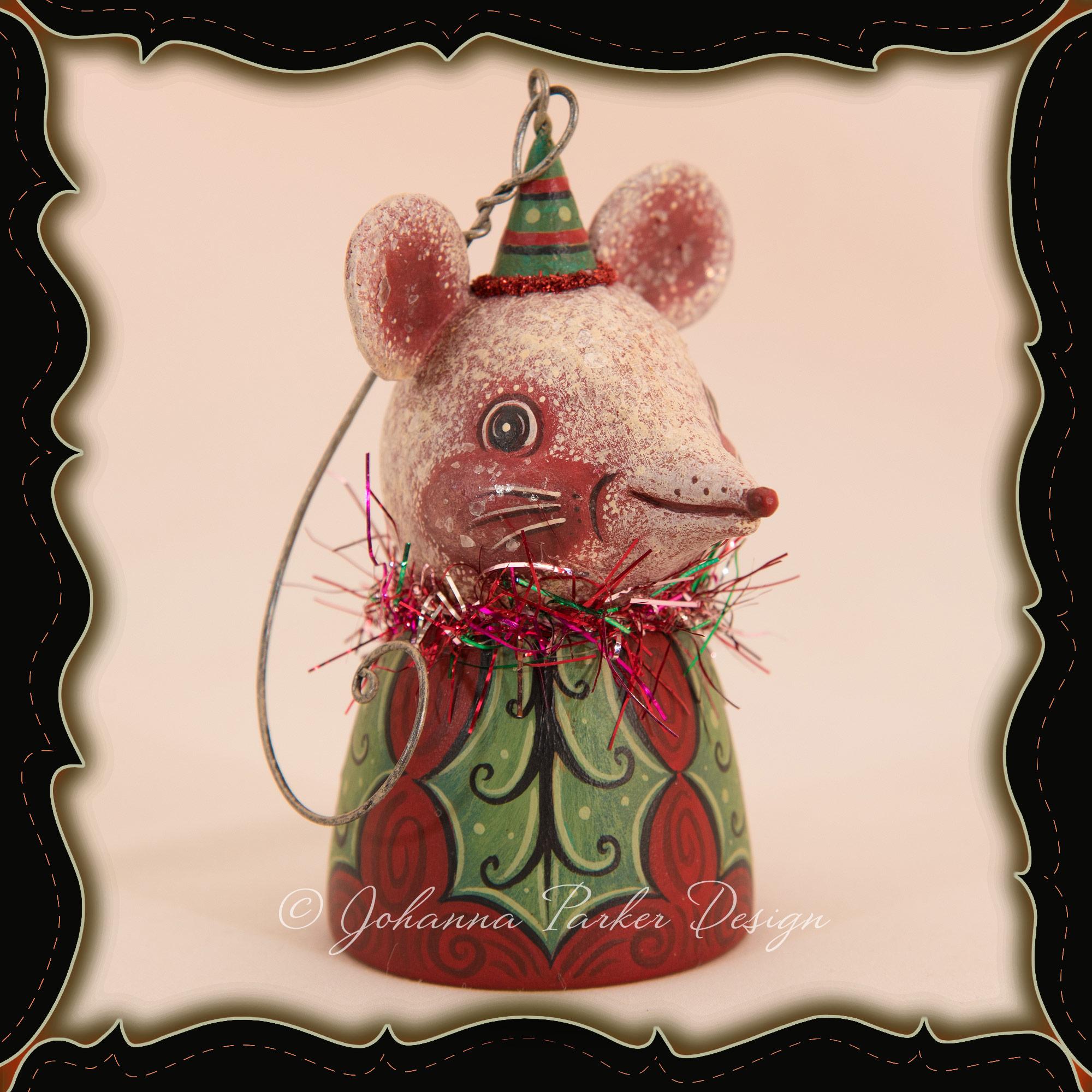 Johanna-Parker-Mouse-Ornament-Bell-Framed.jpg