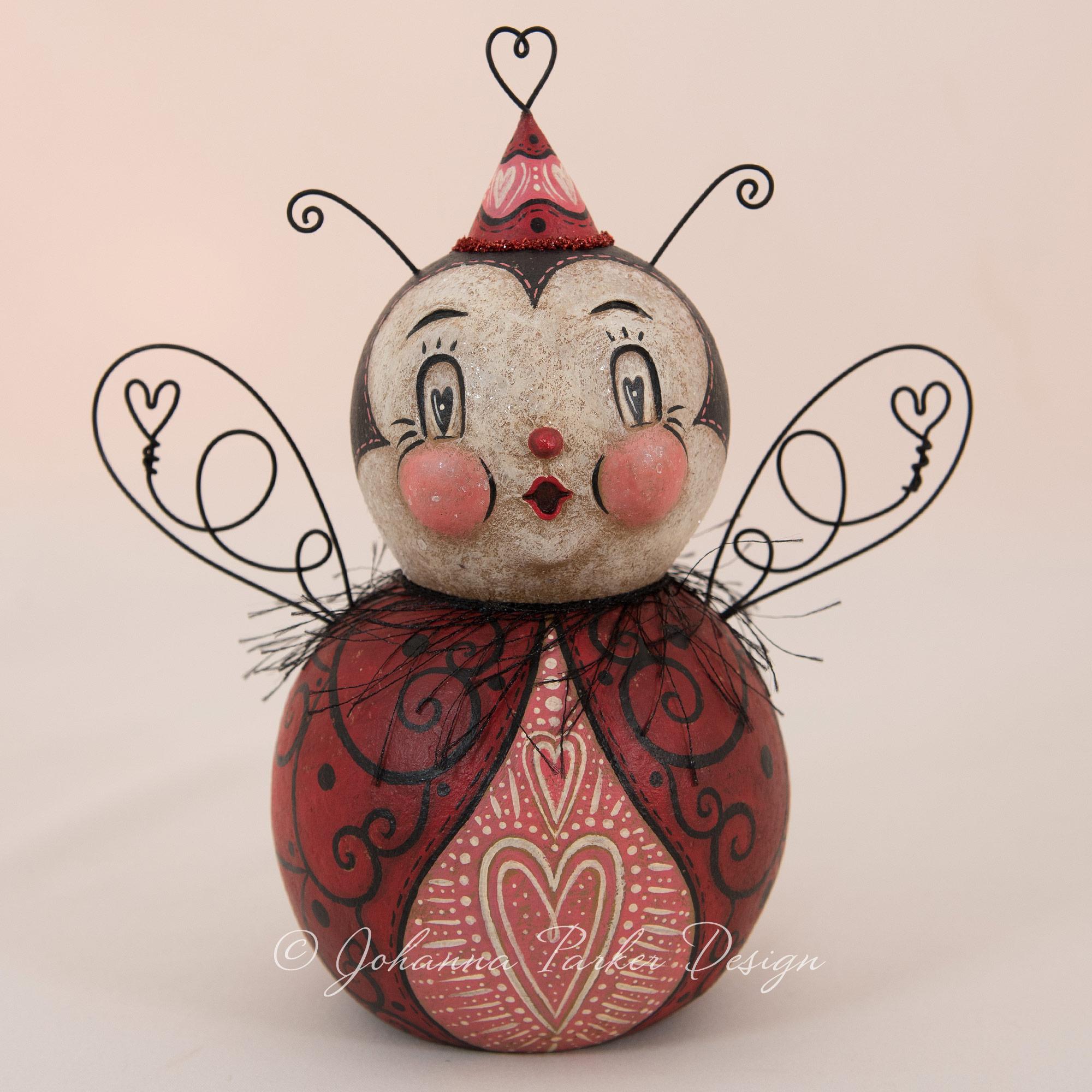 Matilda Heart Valentine Love Bug