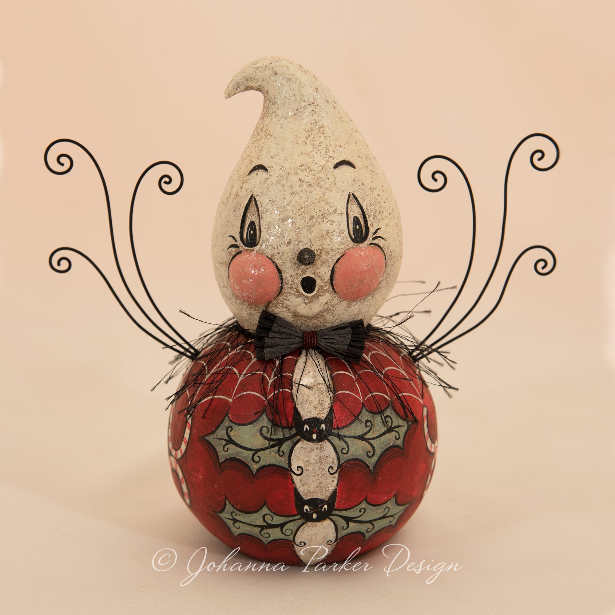 Ghost of Christmas Folk Art