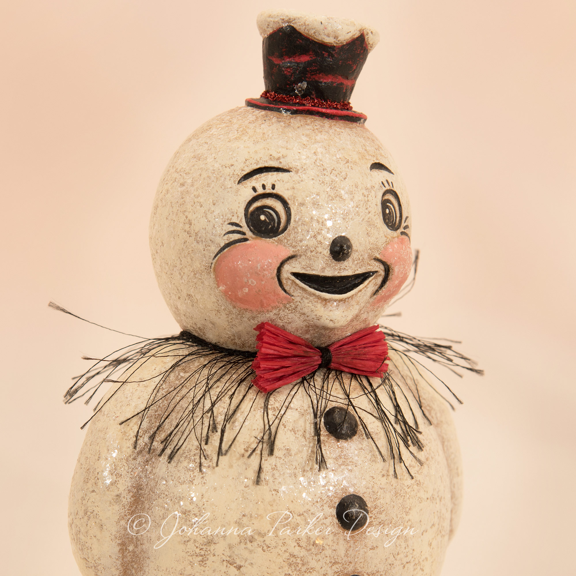Frosty Smiling Snowman