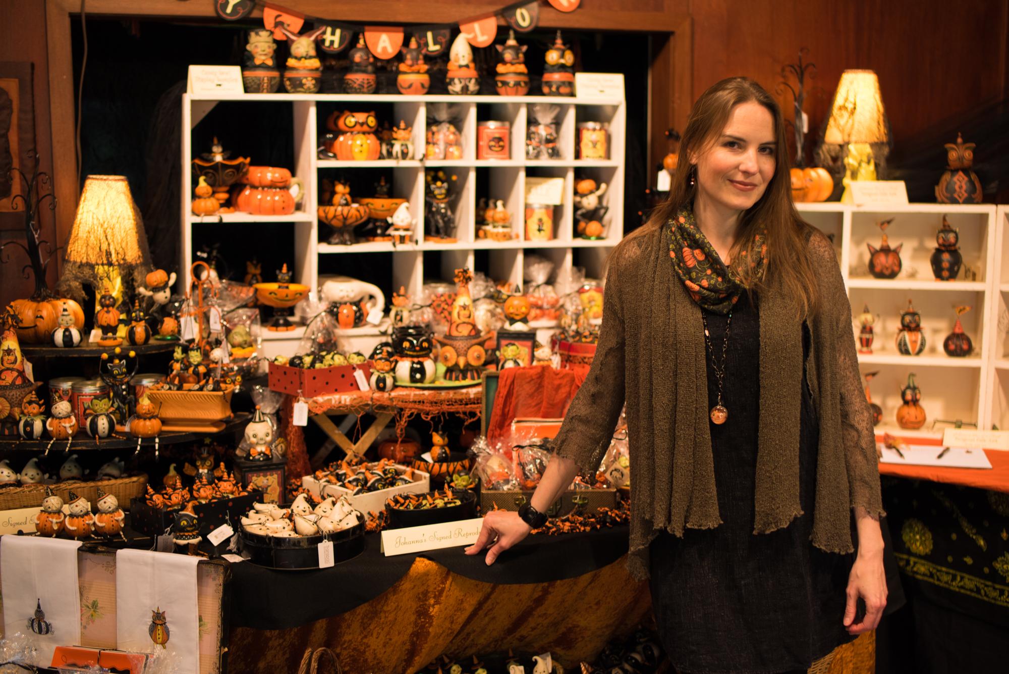 Johanna Parker Halloween Folk Artist