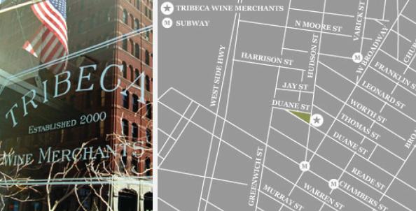 Tribeca Wine & Spirits, 40 Hudson Street, NYC NY 10013