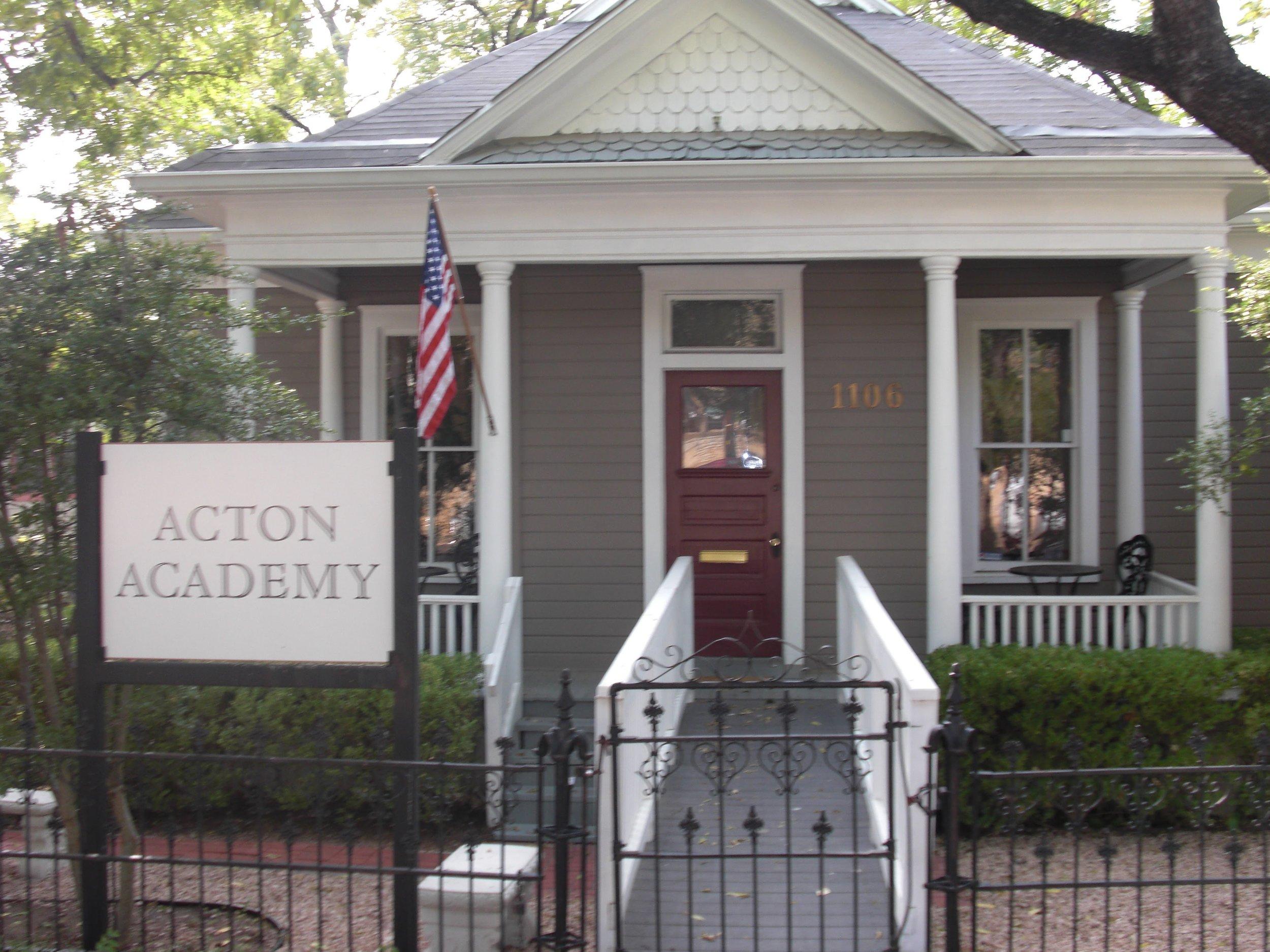 The Original Acton Academy Established in 2009