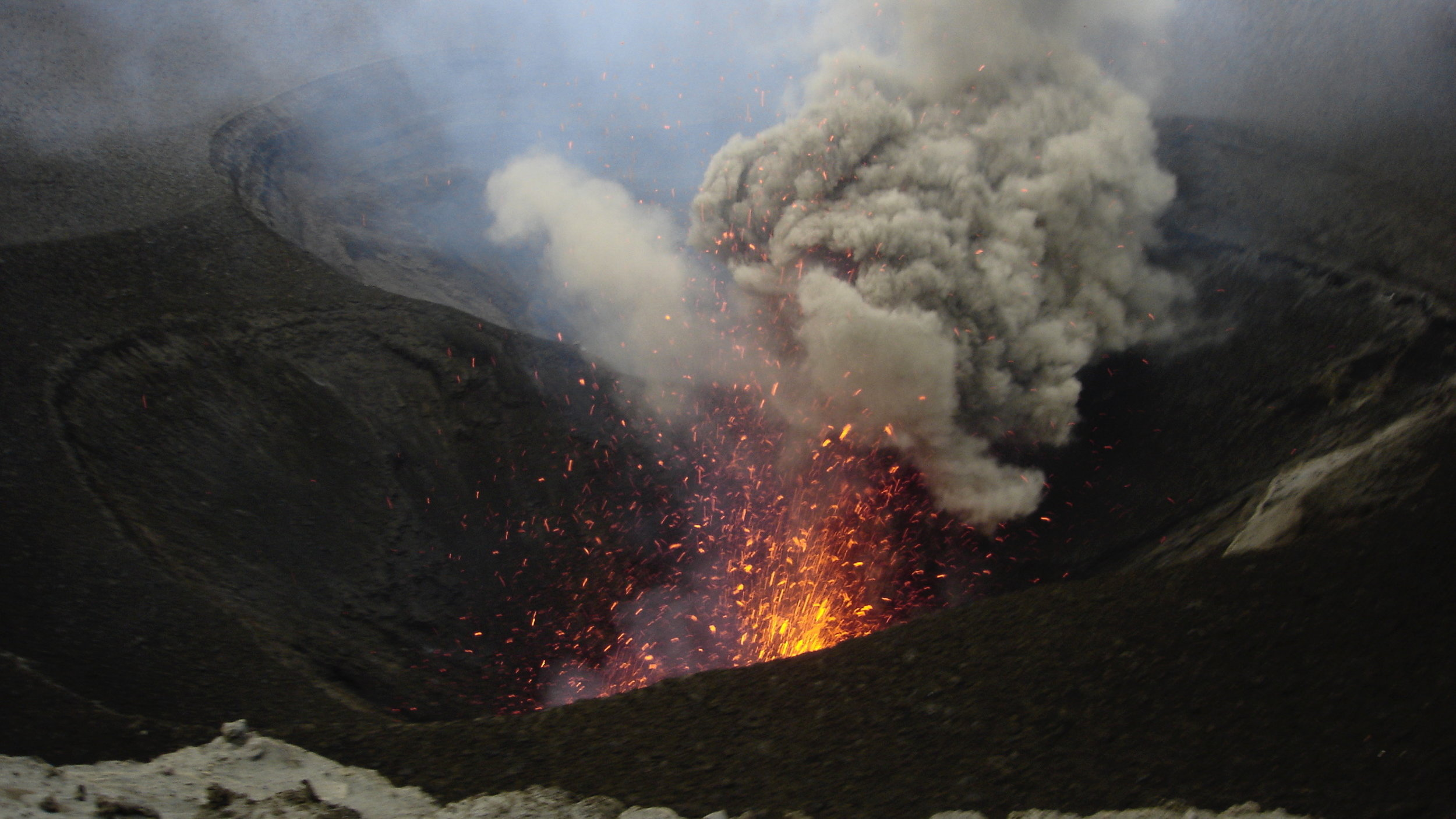 Vanuatu 2008 - Volcano Trekking