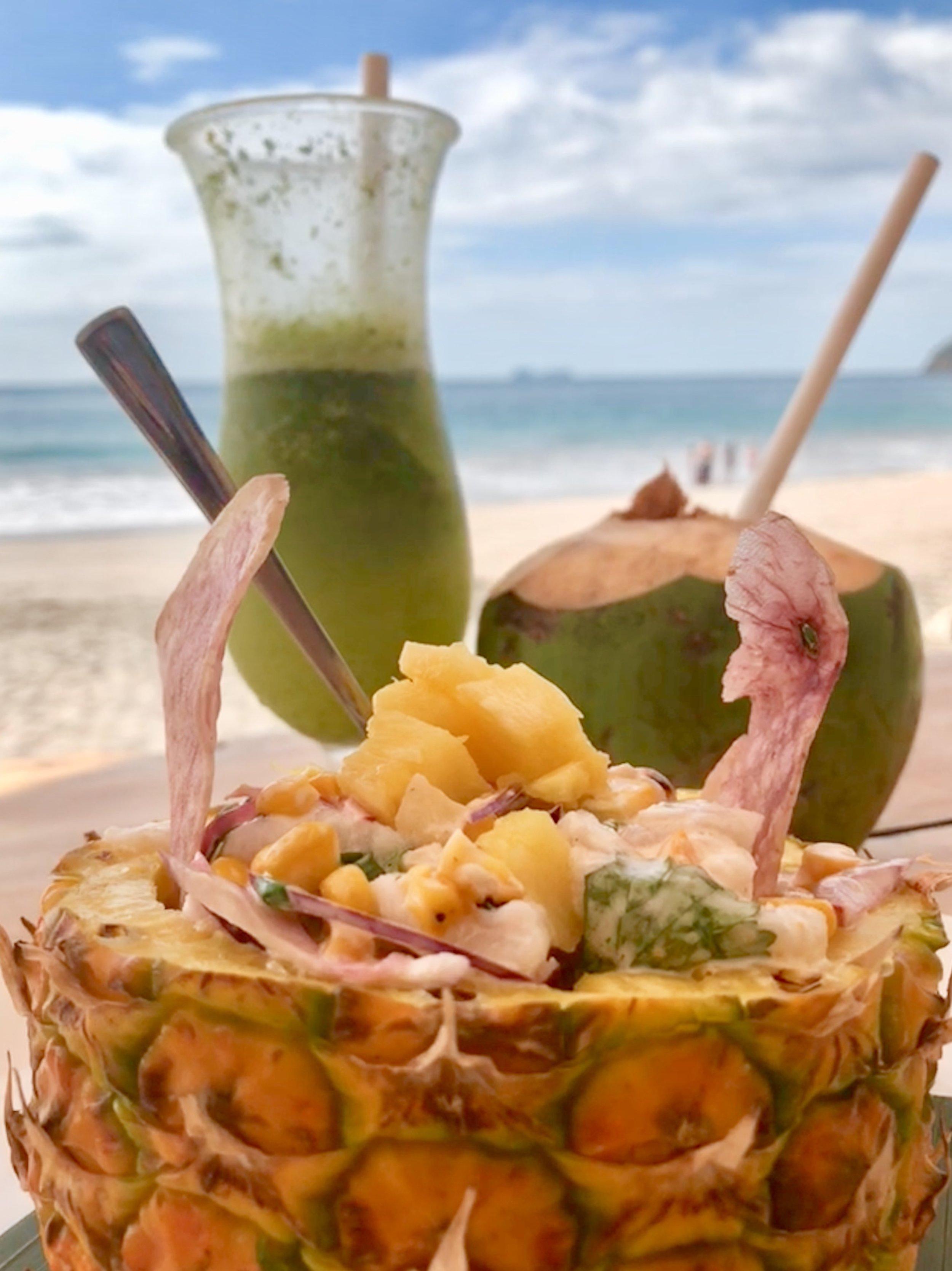 Batidos + Tropical Ceviché