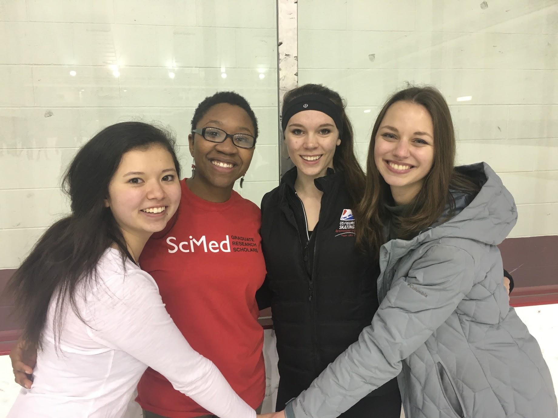 Tiaira's first time ice skating!